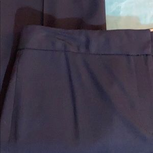 Elie Tahari Free* with $30 purchase navy slacks